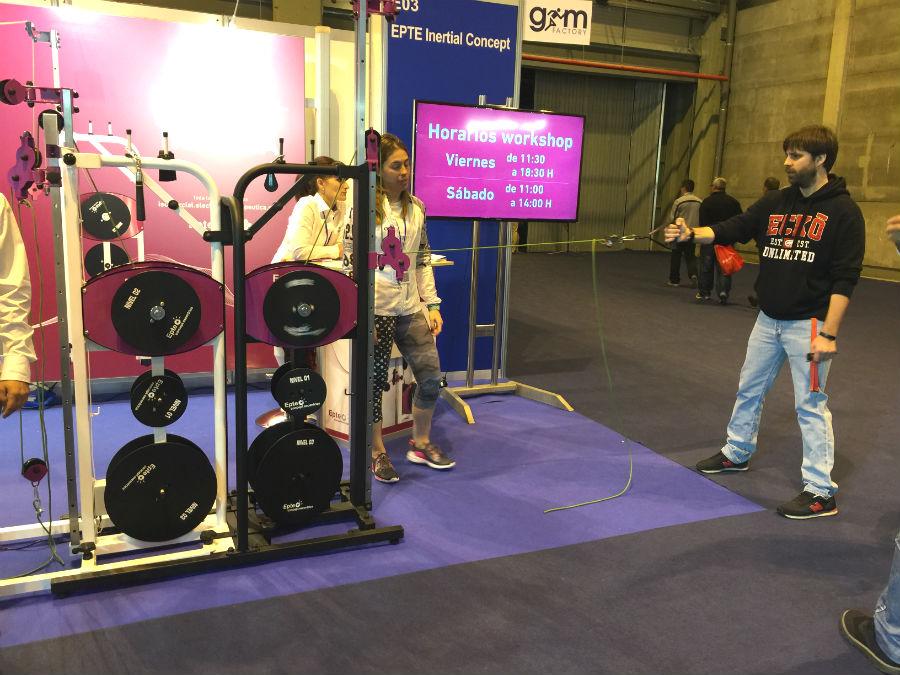 Entrenamiento funcional con Beatriz Crespo Ruiz en Gym Factory