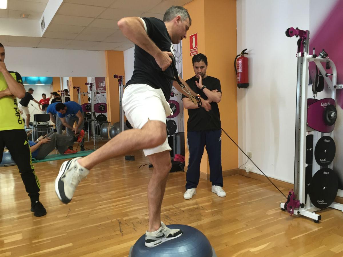 Ejercicio terapéutico EPTE Inertial Functional Training