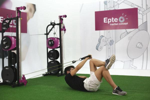 Entrenamiento isoinercial inercial con EPTE Inertial Concept
