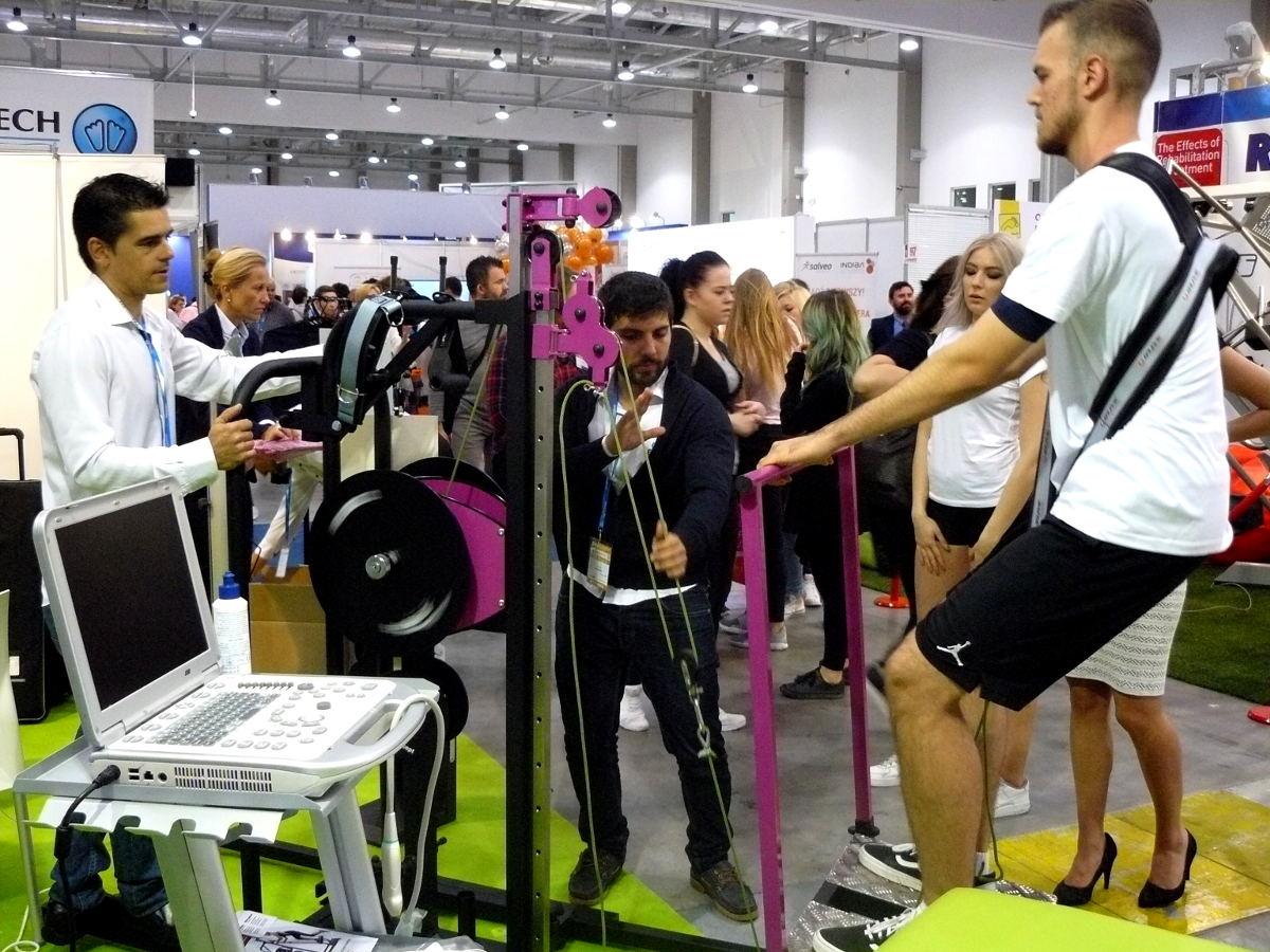 EPTE Inertial concept en la Feria Rehabilitacja Polonia