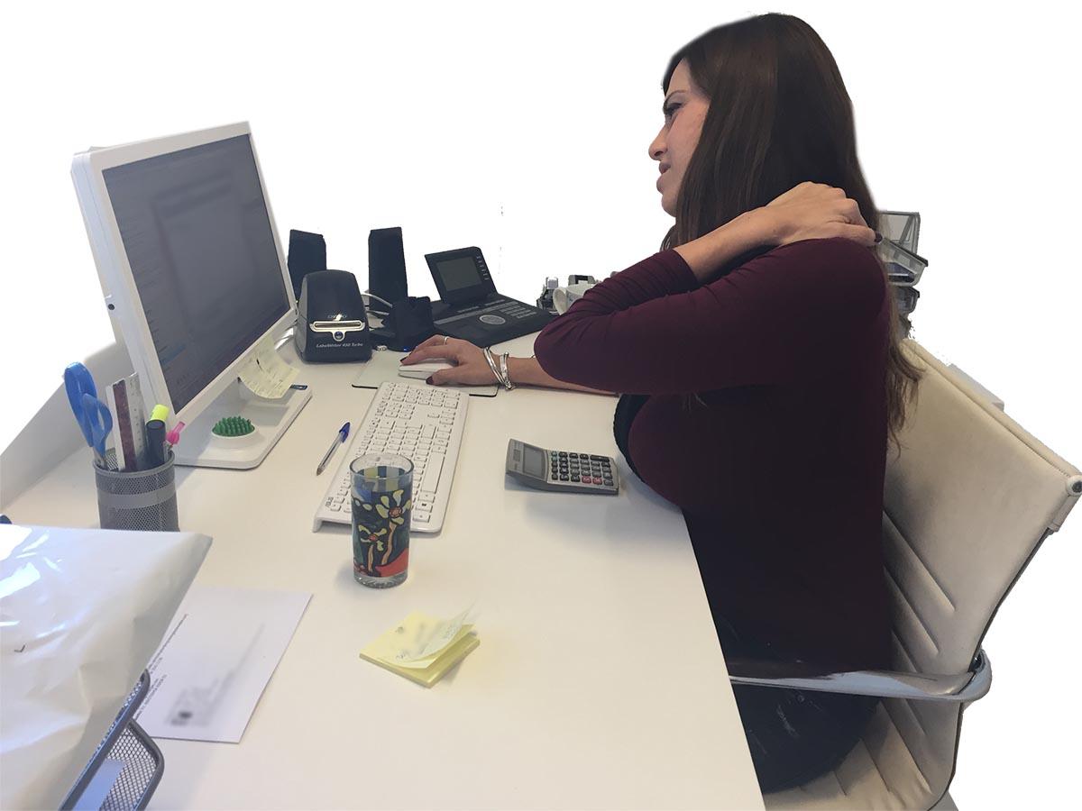 Problemas posturales derivados del sedentarismo