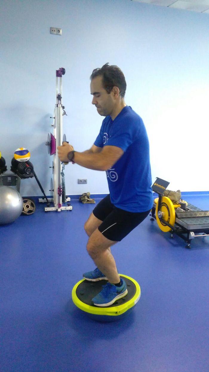 esercizio propriocettivo e isoinerziale