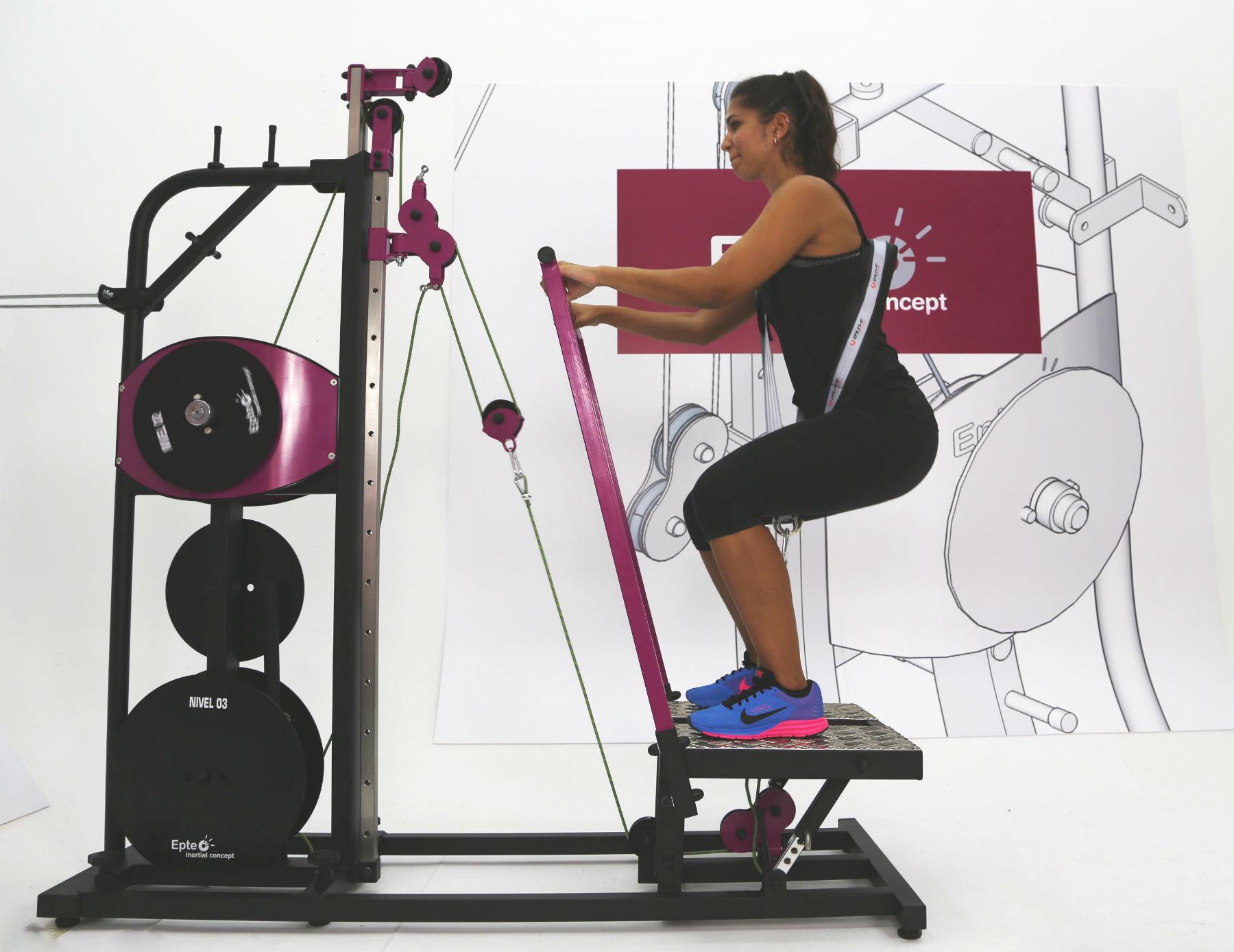 complemento squat con EPTE Inertial Concept