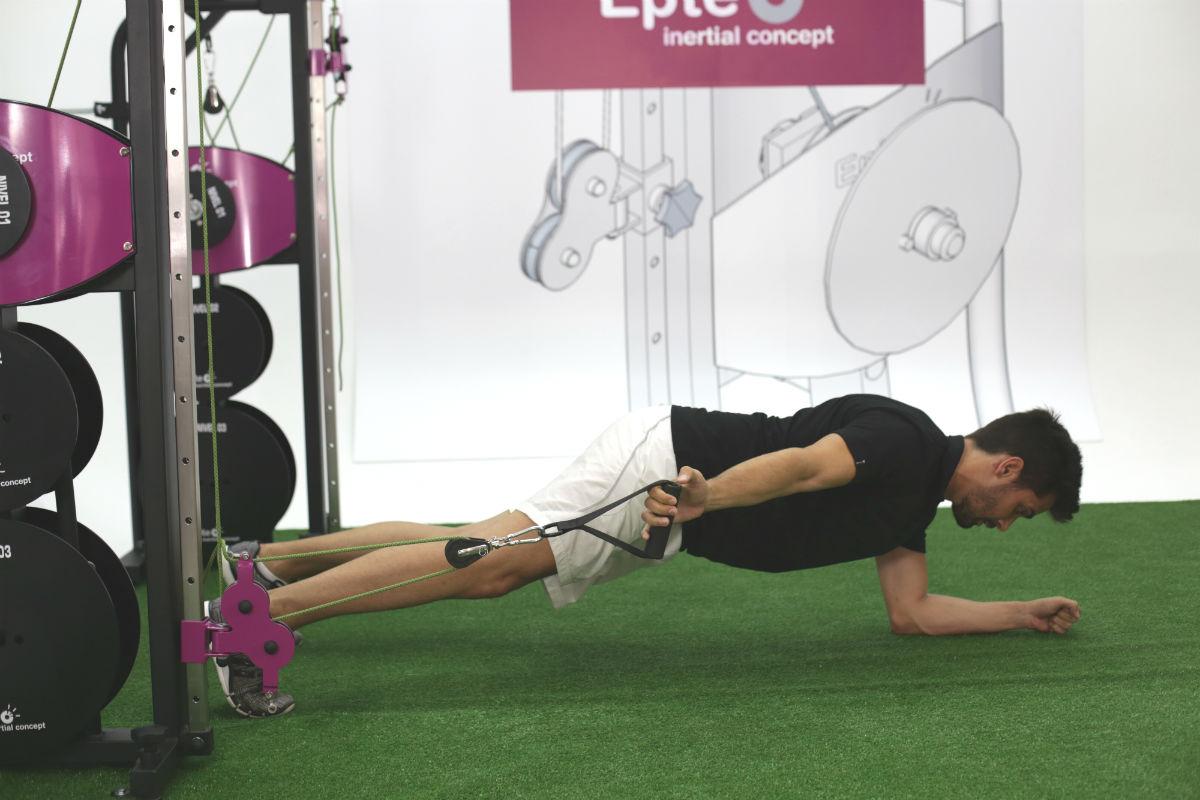 allenamento del core