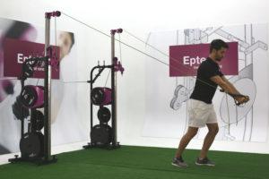 entrenamiento isoinercial con EPTE Inertial Concept