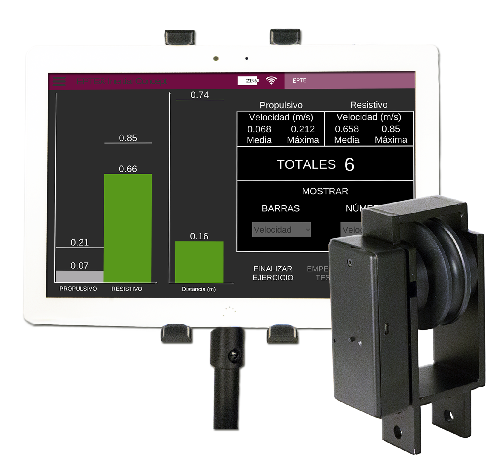 Encoder EPTE Inertial Measuring system