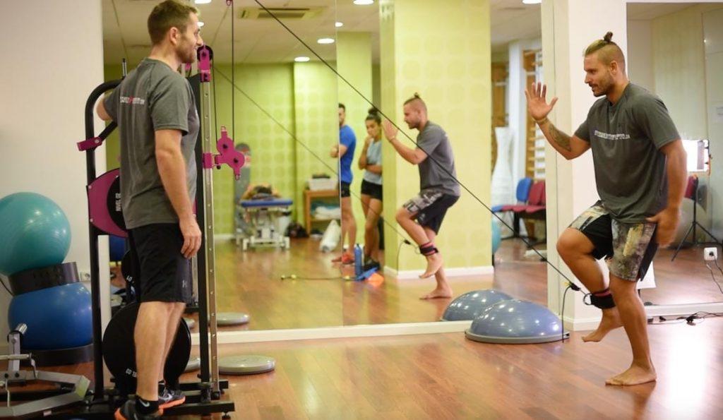 Entrenamiento de fuerza para correr entrenamiento isoinercial