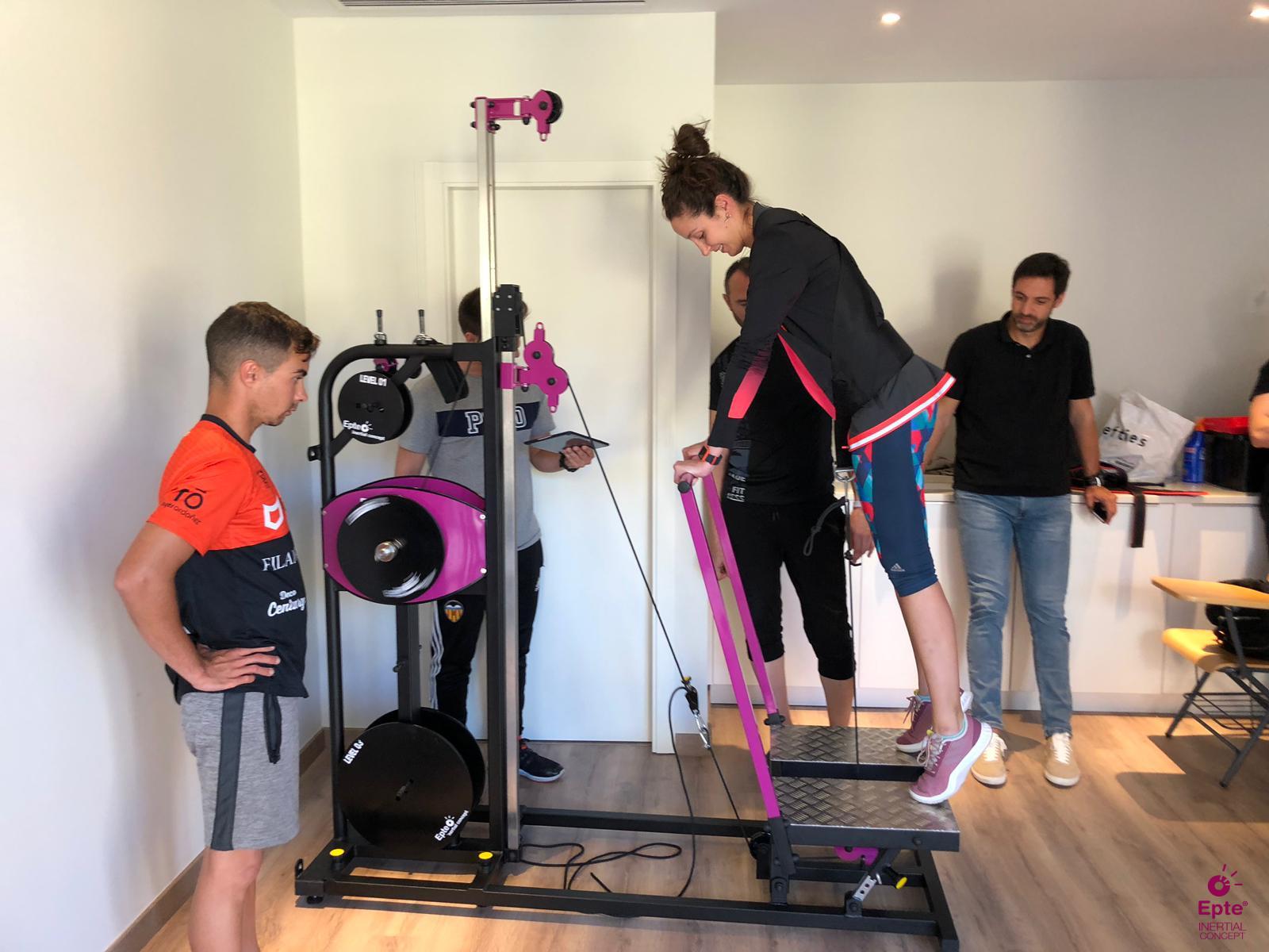 Taller práctico entrenamiento inercial Gandia